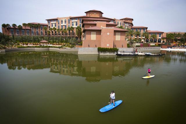 Westin Lake Las Vegas Resort & Spa located at 101 Montelago Boulevard in Henderson as seen Friday, May 16, 2014.  (Jeff Scheid/Las Vegas Review-Journal)