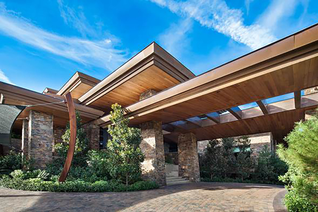 Entertainer David Copperfield made news for paying $17.55 million to buy a luxurious home in Summerlin that GLVAR confirmed was the most expensive single home listed on the association's Multipl ...