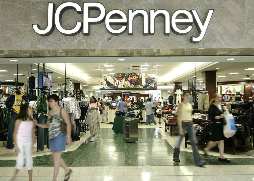 J.C. Penney's will close its store at Boulevard Mall in Las Vegas. (Matt Slocum/AP)