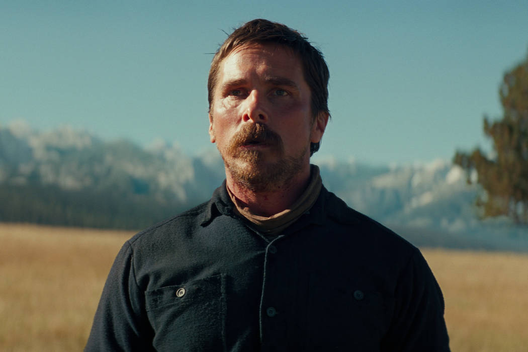 "Christian Bale stars as Cavalry Captain Joseph Blocker in ""Hostiles."" (Lorey Sebastian/Yellow Hawk, Inc.)"