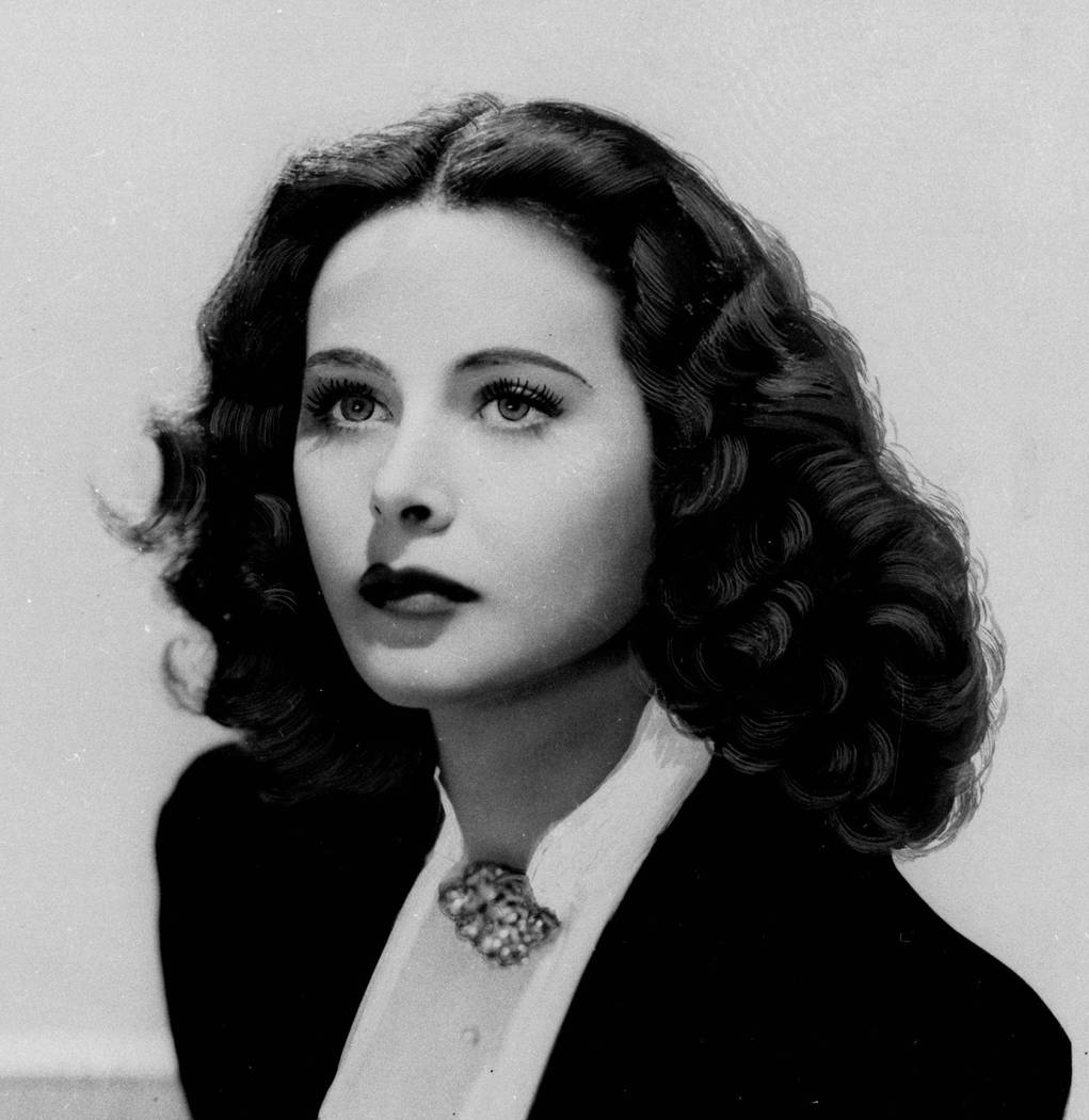 This is a 1941 file portrait of actress Hedy Lamarr.  Lamarr, along with composer George Antheil, designed and patented in 1942 a communications system that has become the underlying technology of ...