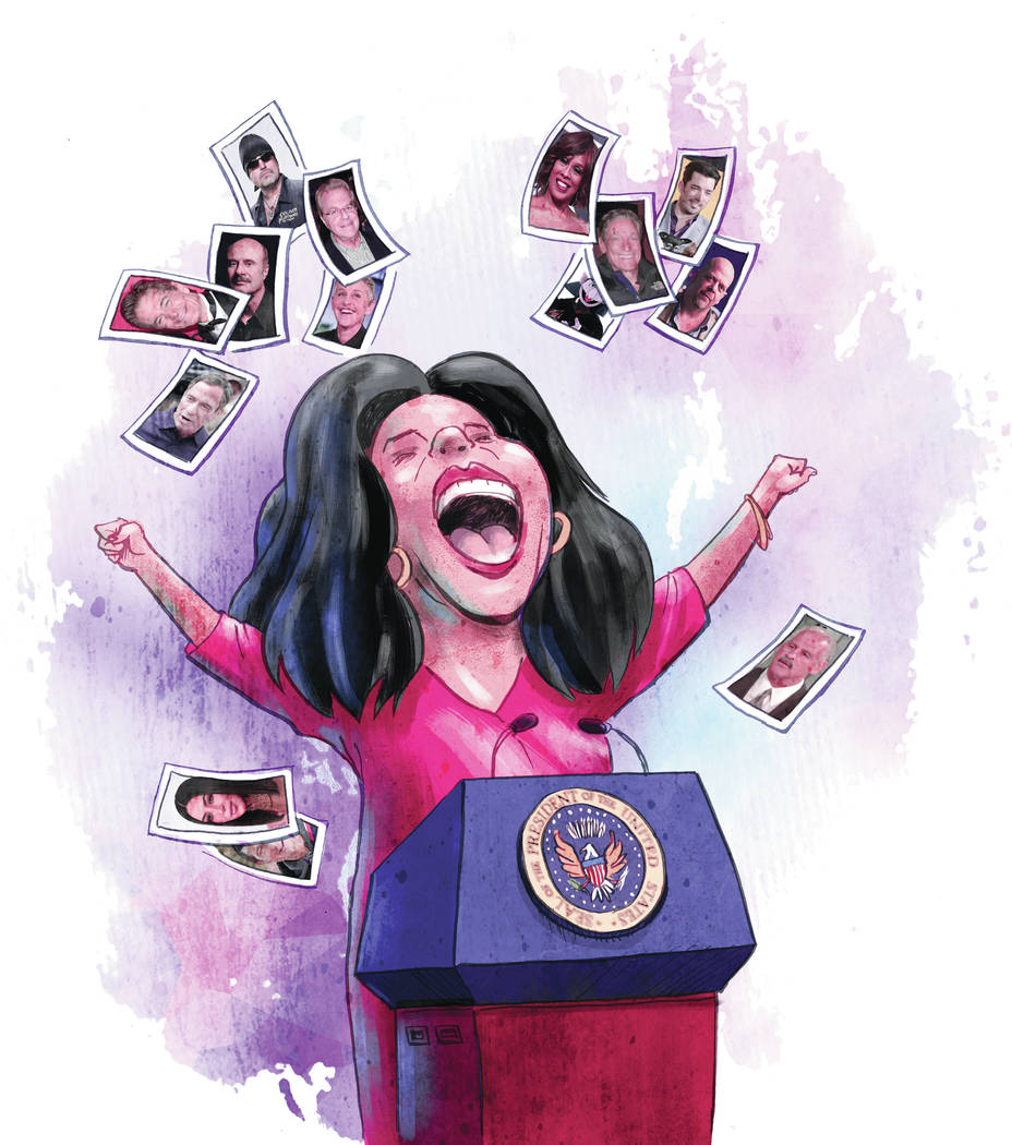 An Oprah presidency (Wesley Rand Las Vegas Review-Journal)