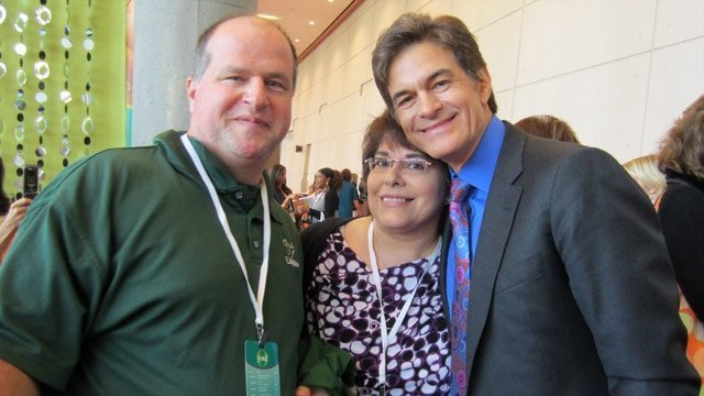 """Patti and Cliff Roberts met Dr. Mehmet Oz at O Magazine's O You! conference in Atlanta. The term cyberchondria is a digital age version of hypochondria. Patti Roberts says an episode of """"The Oprah ..."""