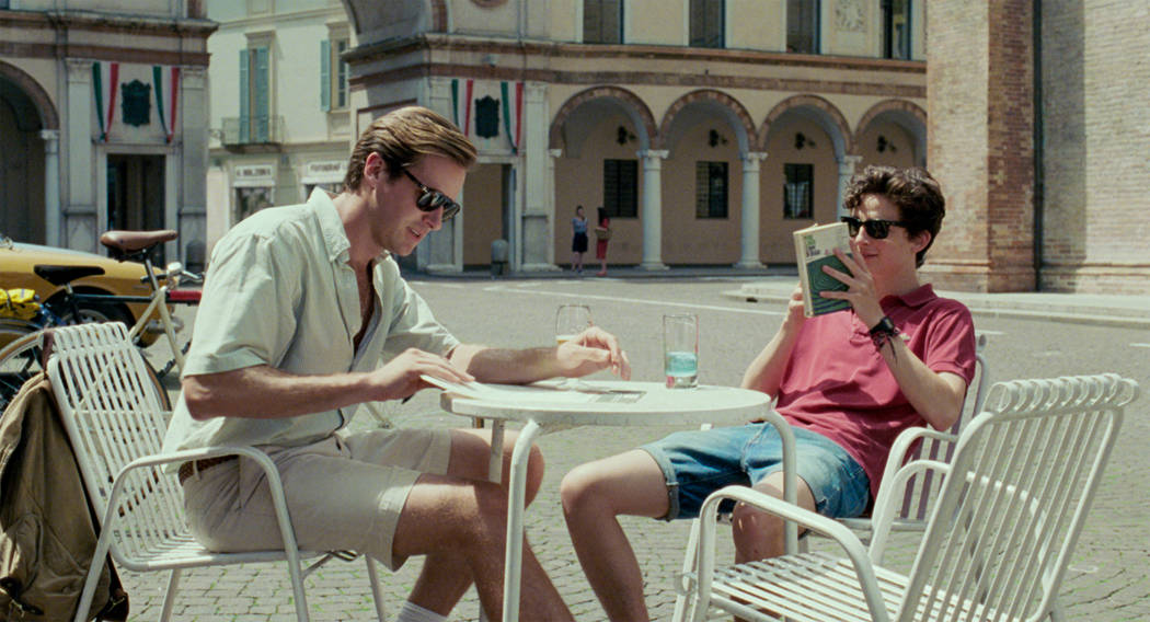 """Armie Hammer and Timothee Chalamet in """"Call Me by Your Name."""" (Sony Pictures Classics)"""