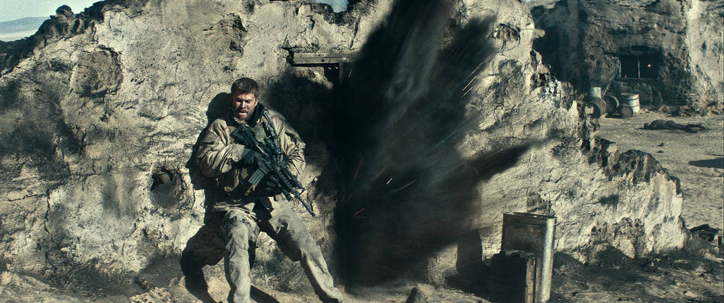 """CHRIS HEMSWORTH as Captain Mitch Nelson in """"12 STRONG."""" (Warner Bros. Pictures)"""
