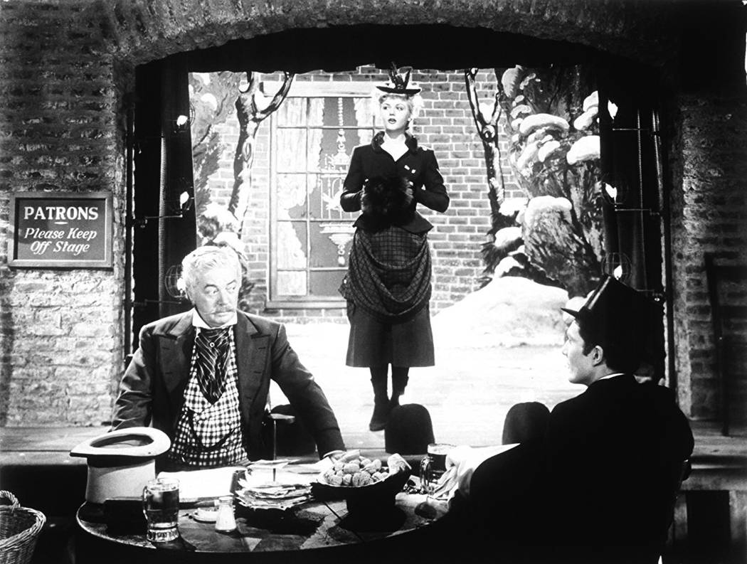 """Angela Lansbury appears in a scene from 1945's """"The Picture of Dorian Gray."""" (Warner Bros.)"""