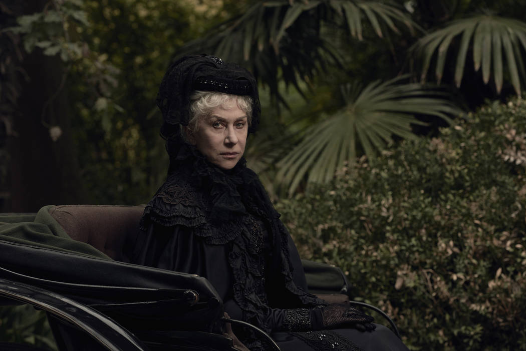 """Oscar winner Helen Mirren stars in """"Winchester."""" (Lachlan Moore/CBS Films)"""