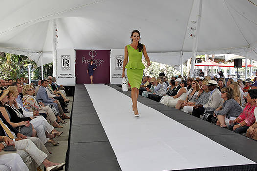 Fashion show at the Santa Barbara Sinatra Charity Match in 2016. Image: Polo America/Kim Kumpart Photography