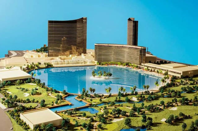 Rendering of proposed Wynn Resorts Paradise Park on the Las Vegas Strip. (Courtesy/JP Morgan/Wynn Resorts)