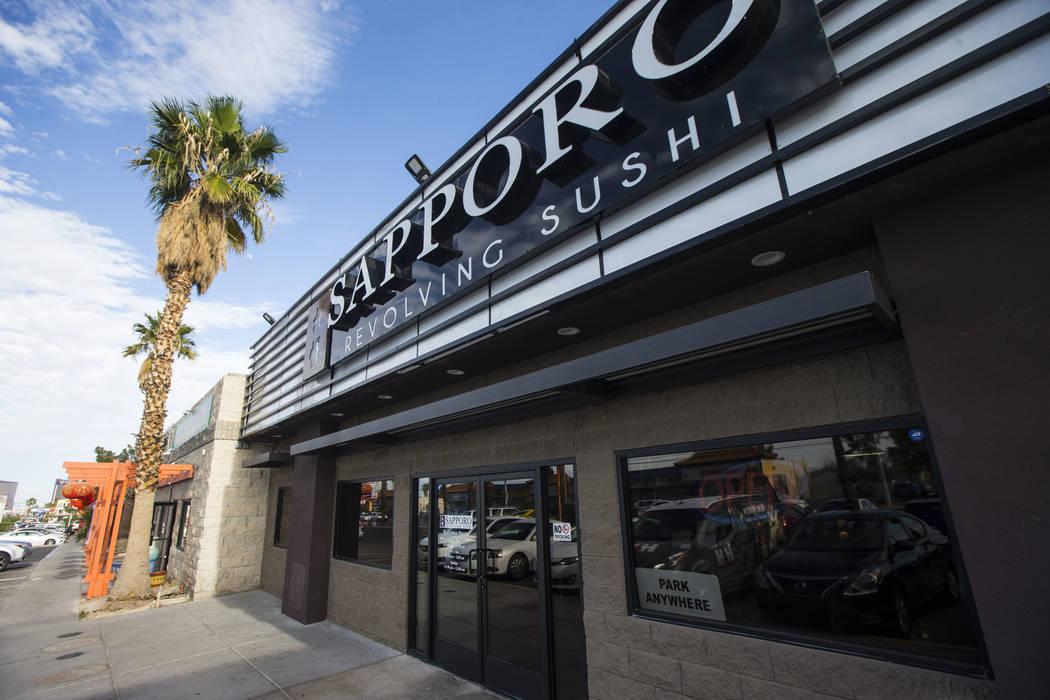 Sapporo Revolving Sushi in Las Vegas on Wednesday, April 25, 2018. Chase Stevens Las Vegas Review-Journal @csstevensphoto