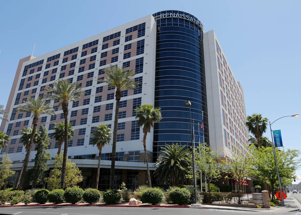 Renaissance Las Vegas Hotel on Paradise Road in Las Vegas, Thursday, May 3, 2018. Chitose Suzuki Las Vegas Review-Journal @chitosephoto