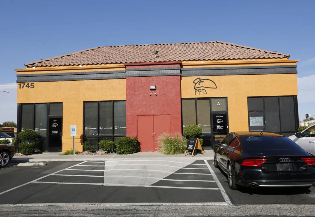 Pots, a vegan and vegetarian restaurant, which serves Egyptian cuisine, in Las Vegas, Thursday, June 7, 2018. (Chitose Suzuki/Las Vegas Review-Journal) @chitosephoto