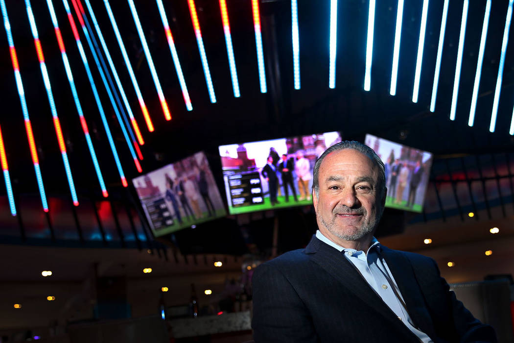 "Hard Rock CEO Richard ""Boz"" Bosworth at the Las Vegas hotel, Thursday, June 14, 2018. (Erik Verduzco/Las Vegas Review-Journal) @Erik_Verduzco"