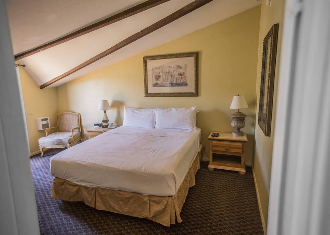 A junior suite at The Resort on Mount Charleston on Friday, June 29, 2018, in Las Vegas. Benjamin Hager Las Vegas Review-Journal @benjaminhphoto