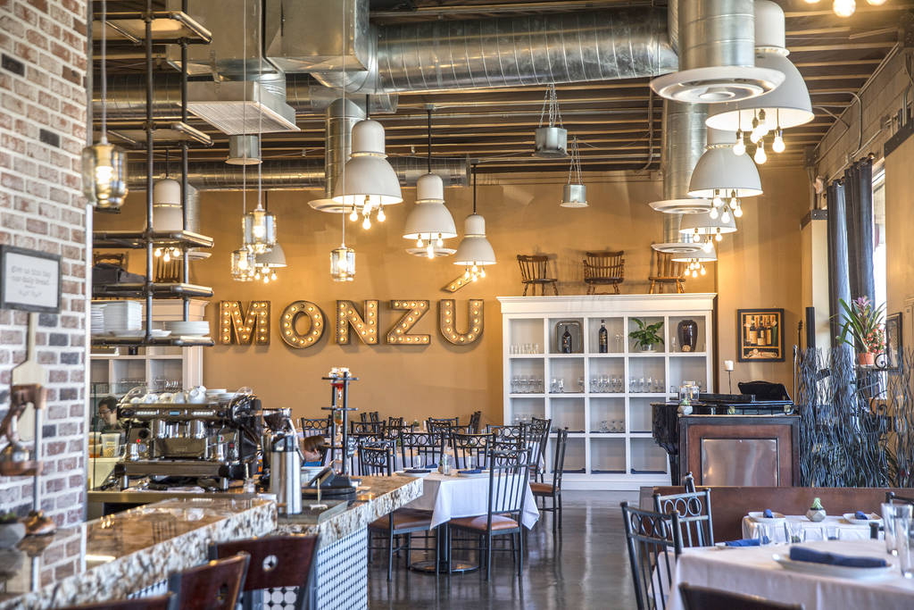 Pizzeria Monzú on Monday, July 2, 2018, in Las Vegas. Benjamin Hager Las Vegas Review-Journal @benjaminhphoto