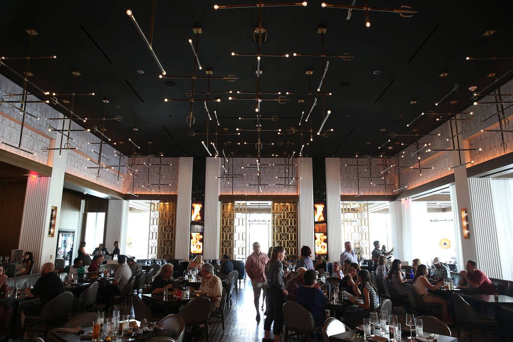 Gordon Ramsay Hell's Kitchen in Las Vegas, Tuesday, July 17, 2018. Erik Verduzco Las Vegas Review-Journal @Erik_Verduzco