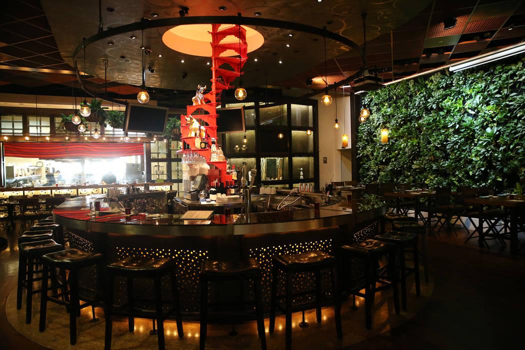 Once restaurant at the Palazzo hotel-casino in Las Vegas, Wednesday, Aug. 1, 2018. Erik Verduzco Las Vegas Review-Journal @Erik_Verduzco
