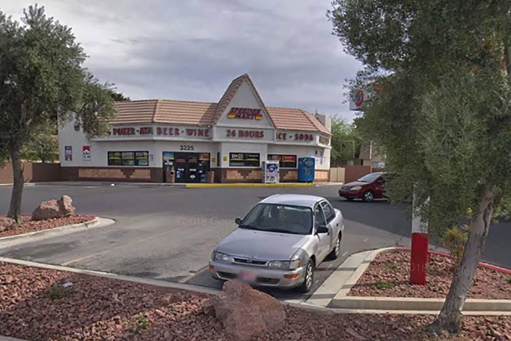 Speedee Mart at 3225 E. Desert Inn Road. (Google)