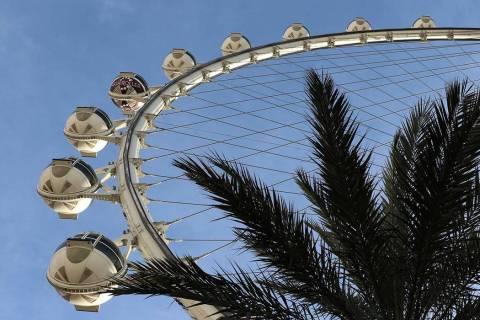 The Las Vegas High Roller. (Bizuayehu Tesfaye/Las Vegas Review-Journal) @bizutesfaye