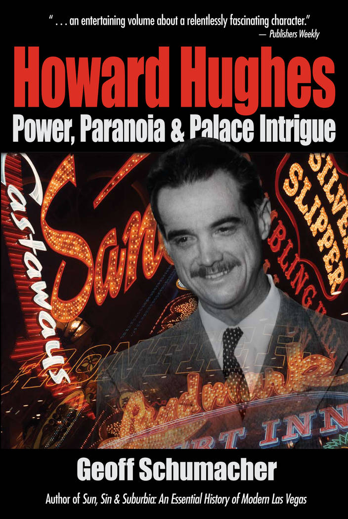 """The cover of the first edition of """"Howard Hughes: Power, Paranoia & Palace Intrigue"""" by former ..."""