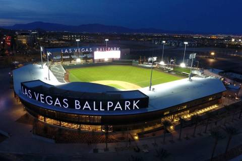 The Las Vegas Ballpark in Downtown Summerlin (Michael Quine/Las Vegas Review-Journal)