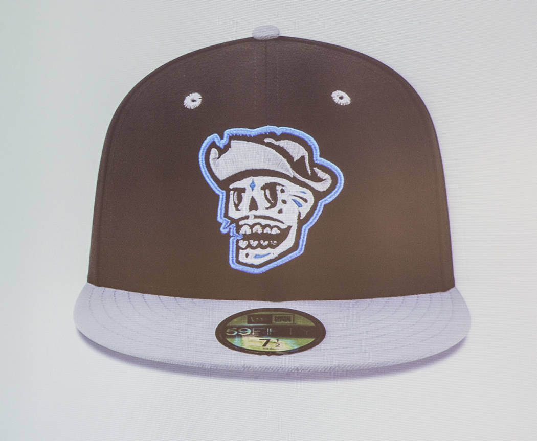 """A hat for several games in which the Las Vegas 51s will become the """"Reyes de Plata,"""" ..."""