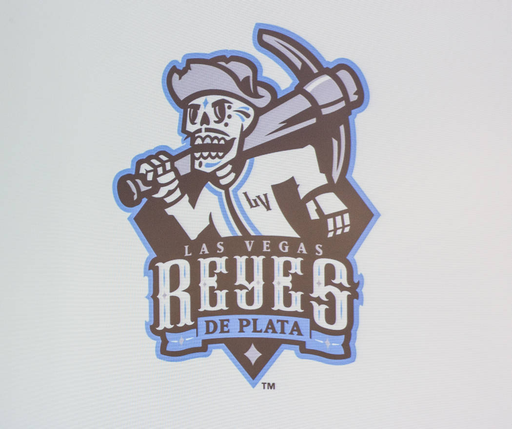 """A new logo for several games in which the Las Vegas 51s will become the """"Reyes de Plata,& ..."""