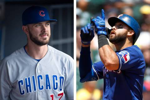 Las Vegas natives Kris Bryant and Joey Gallo came up short on the All-Star Starters Election ba ...