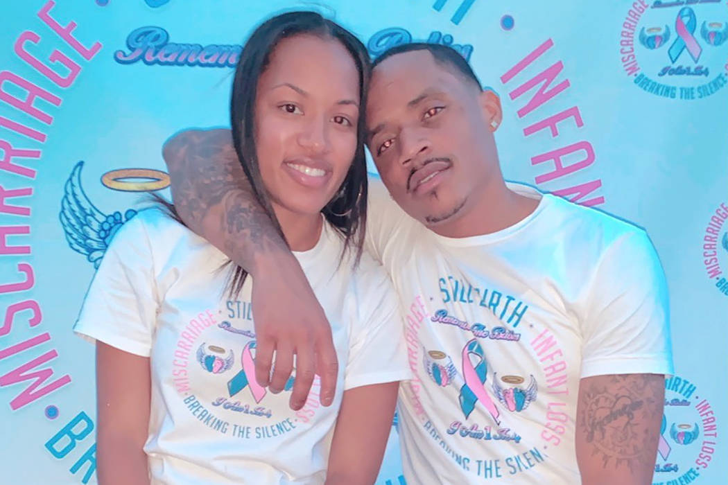 North Las Vegas residents Alvina and Devin Conway launched the Remember The Babies Foundation t ...