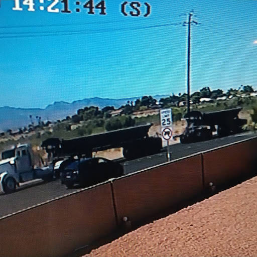 Photo courtesy of Trevor Schneider A screenshot from one of Trevor Schneider's security camera ...