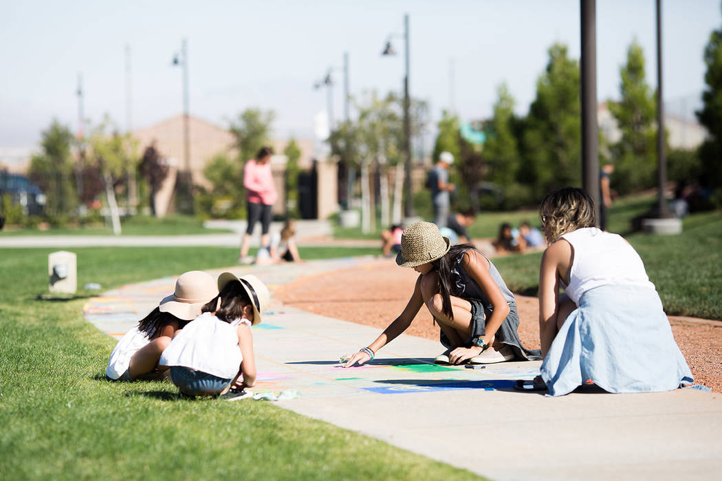 The third annual Chalk + Cheers will be held Saturday from 11 a.m.-6 p.m. at Skye Canyon Park. ...