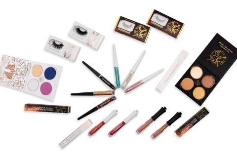 """Fans of """"The Hunger Games"""" can now purchase makeup from the young adult franchise's cosme ..."""