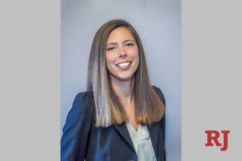 Hayley Williamson, the newly named chairwoman of the Public Utilities Commission of Nevada. (Co ...