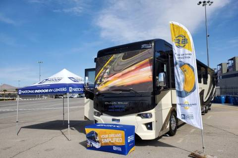 Las Vegas National Indoor RV Centers This 2020 Newmar Dutchstar 4369 from Las Vegas National In ...