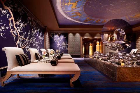 Wynn Spa-Treatment Lounge Chaises (Barbara Kraft)