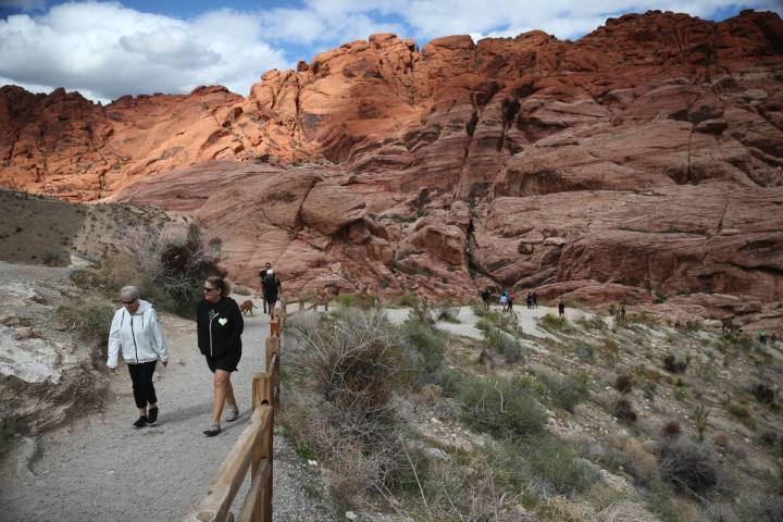 Red Rock National Conservation Area, including the Scenic Drive, will reopen Monday. (Erik Verd ...