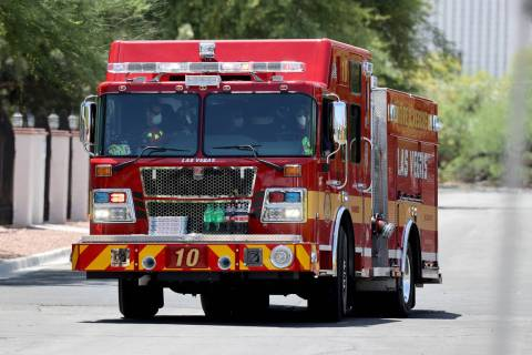 Professional Firefighters of Nevada from Las Vegas, North Las Vegas and Clark County fire depar ...