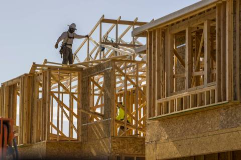 New home construction continues on the Altair Pointe community project in the northwest valley ...