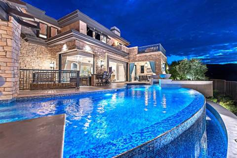 Former Major League Baseball player Aaron Rowand sold his Summerlin home he built in 2011 in Th ...