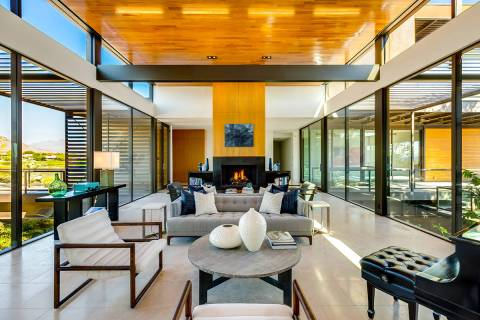 Former MGM Resorts International Chairman and CEO Jim Murren lists his home in The Ridges in Su ...