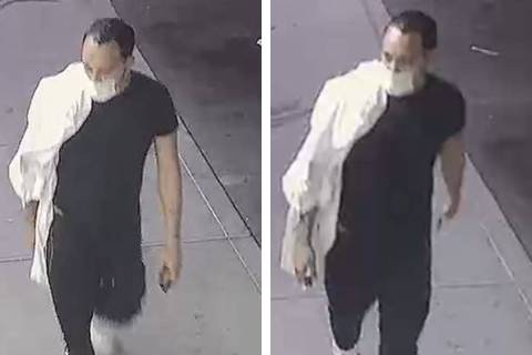 Police are looking for a man in connection to a robbery Saturday, July 18, 2020, on the 300 blo ...