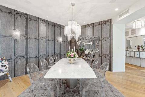 A One Queensridge Place condo sold for $4 million, making it the top sale during the first half ...