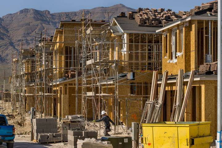 D.R. Horton's North Las Vegas communities helped the builder rank as the No. 1 best-selling hom ...