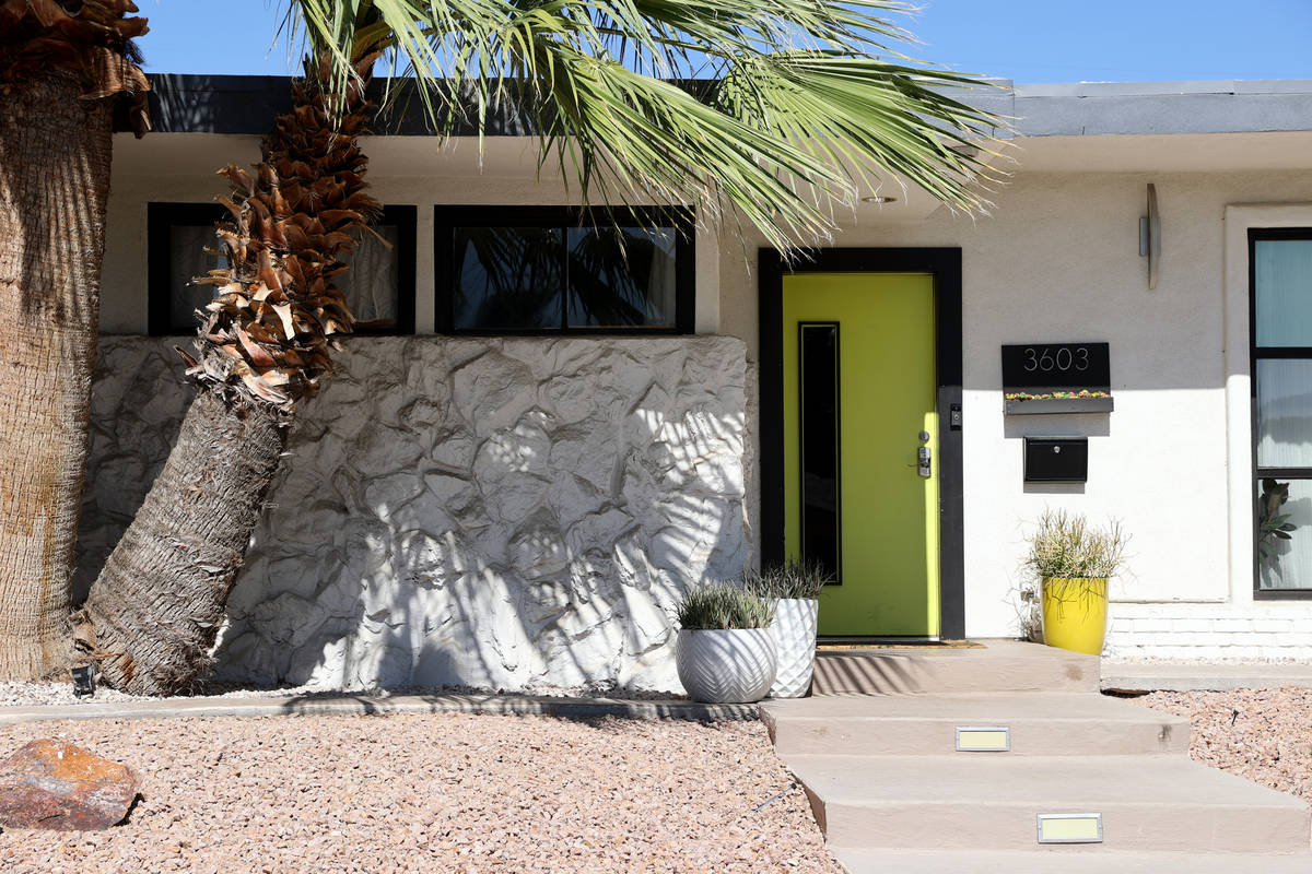 A home at 3603 Ottawa Circle in the Paradise Palms neighborhood in Las Vegas Thursday, July 30, ...
