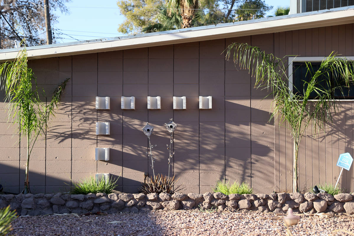 A home at 1635 Serenada Ave. in the Paradise Palms neighborhood in Las Vegas Friday, July 31, 2 ...
