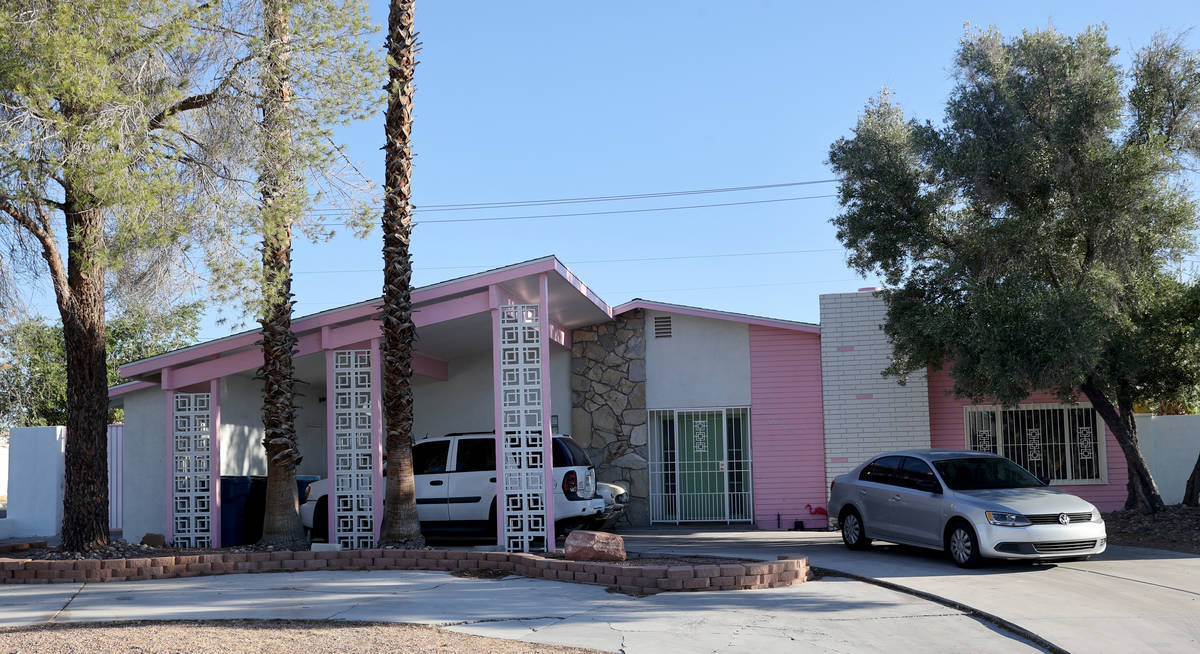 A home at 1682 Golden Arrow Drive in the Paradise Palms neighborhood in Las Vegas Friday, July ...