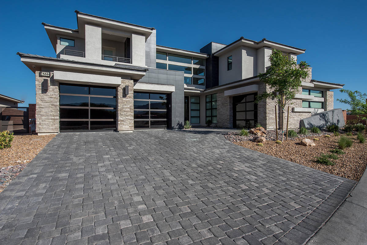 Vegas Golden Knight right wing Alex Tuch paid $2.35 million for a new home in The Ridges in Sum ...