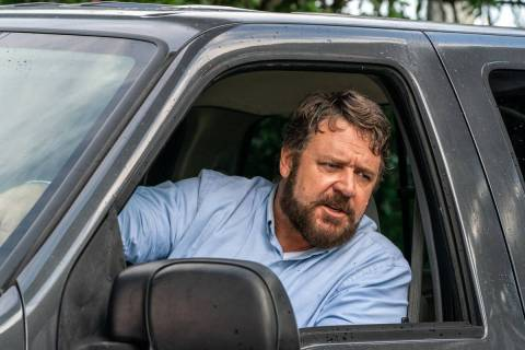"Russell Crowe stars as ""The Man"" in the psychological thriller ""Unhinged."" (Skip Bolden)"