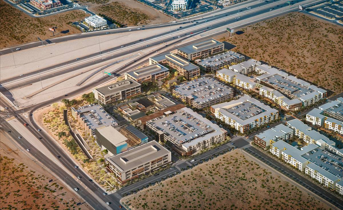 UnCommons, a rendering of which is seen here, is a planned 40-acre, $400 million mixed-use proj ...