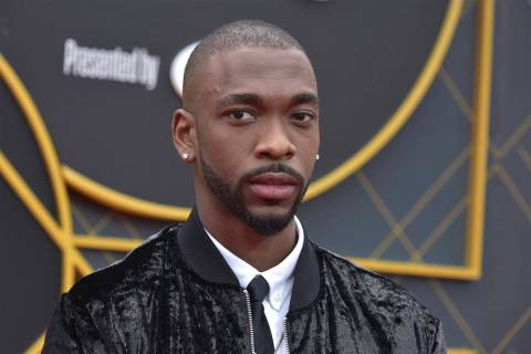 Jay Pharoah arrives at the NBA Awards on Monday, June 24, 2019, at the Barker Hangar in Santa M ...